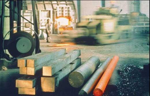 Products from Aero-Vac Alloys & Forge: Alloy Steels, Stainless Steels, Nickel-Based Alloys, Aluminum Alloys, including processes